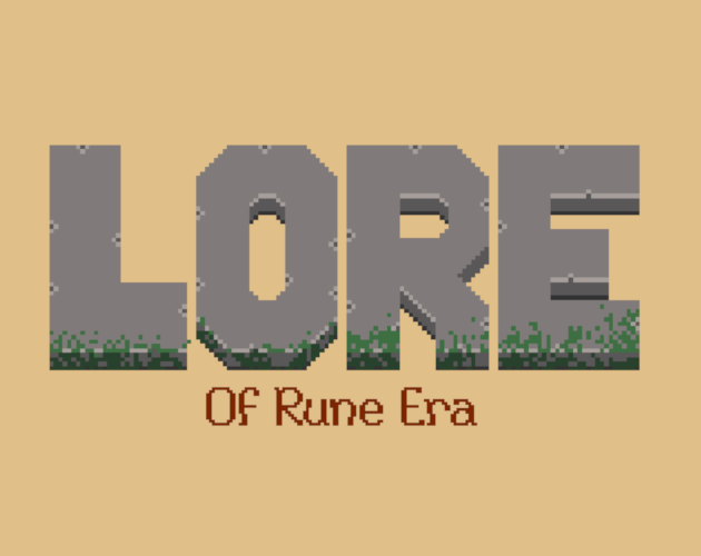 Lore of Rune Era