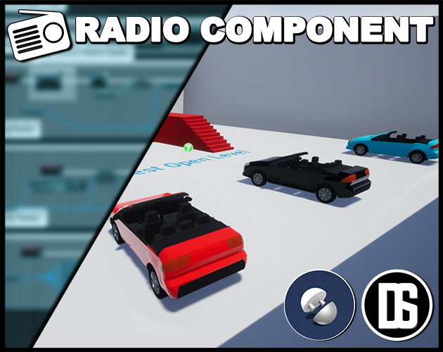 Radio Component [UE4] - Release Announcements - itch io