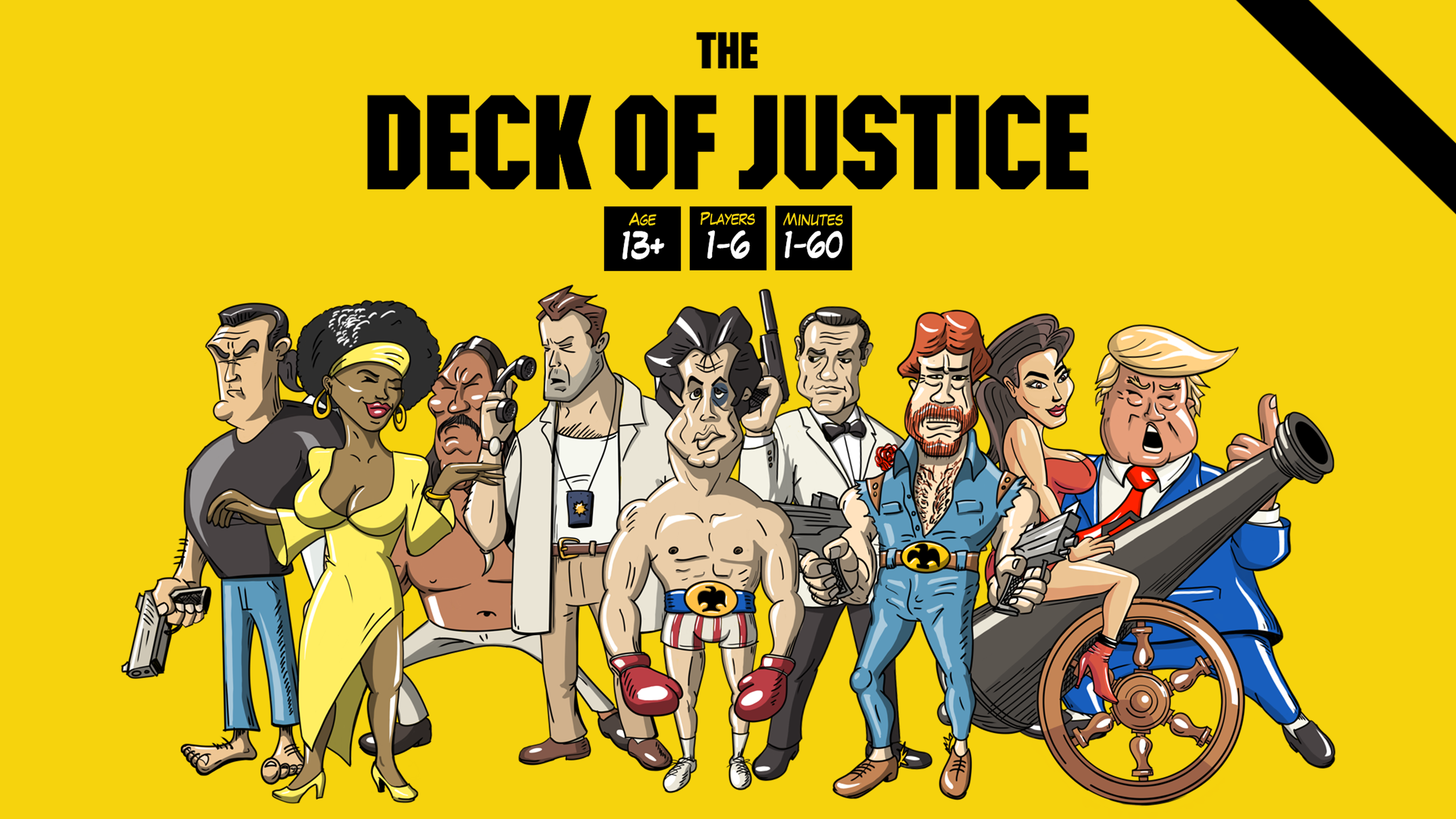 Deck of Justice - A Card Game On Steroids [Demo]