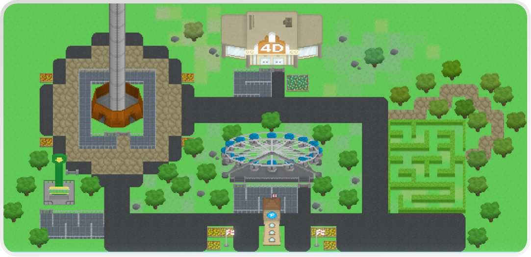 Pixel Park Demo (Theme Park Builder) - Release Announcements - itch io