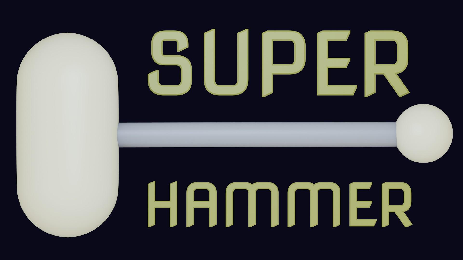 Super Hammer splash screen