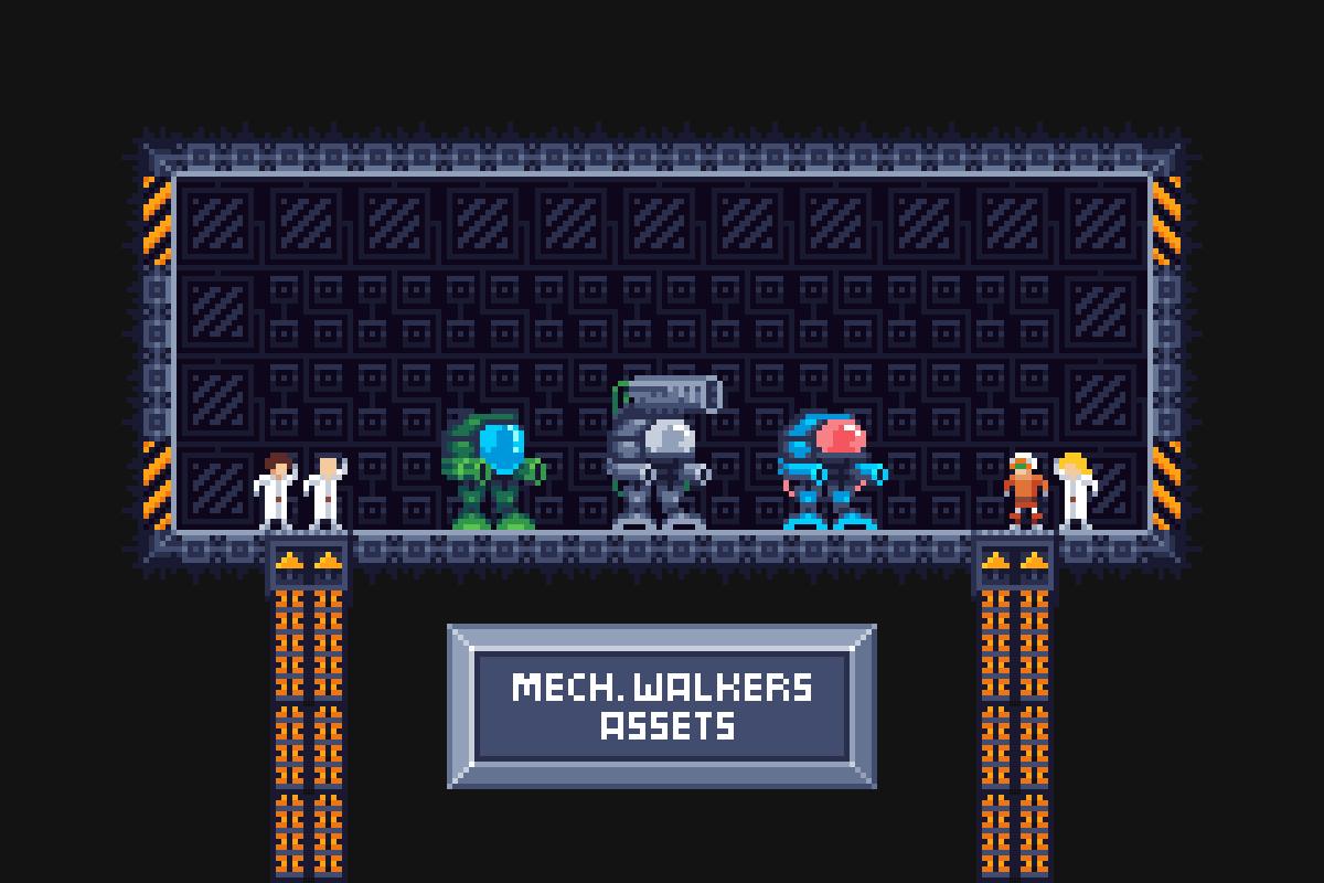 Mech Walkers Assets