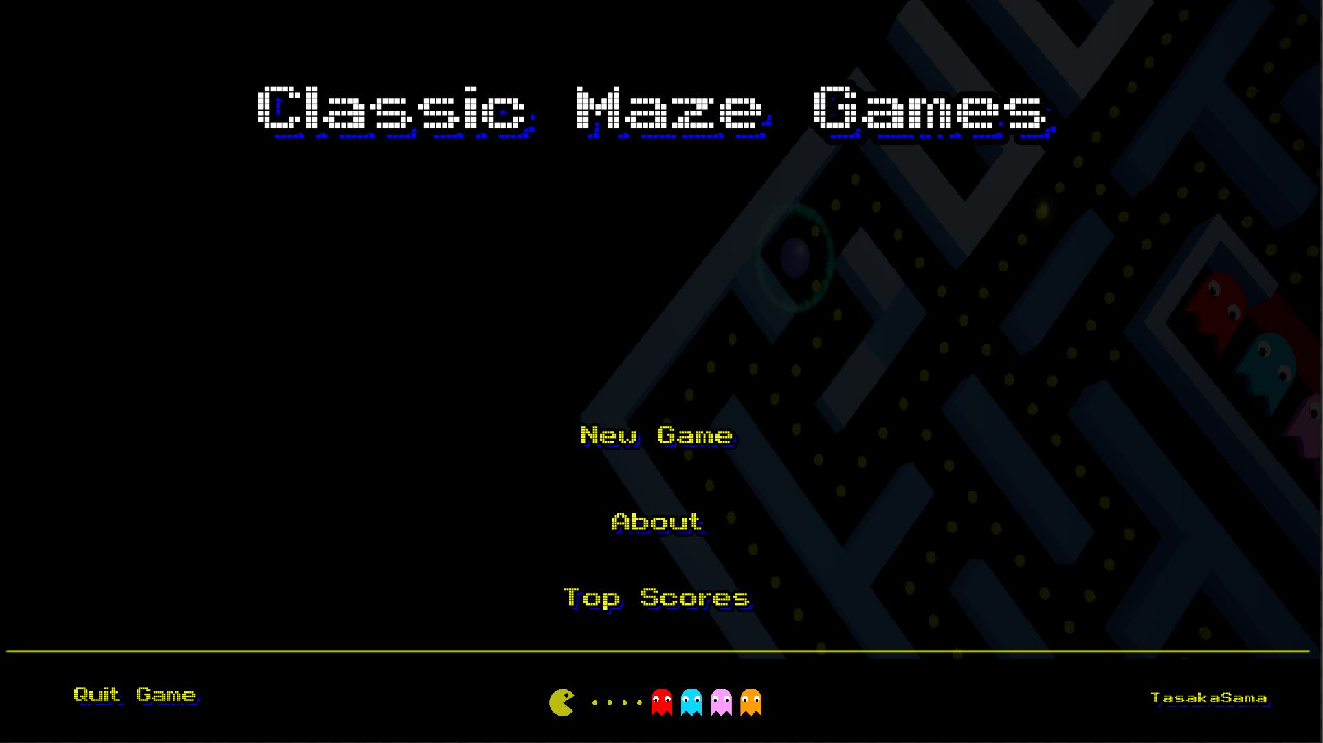 ClassicMazeGame