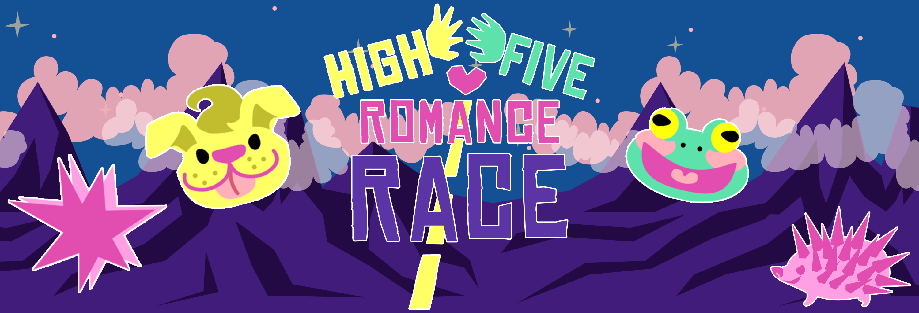 High Five Romance Race