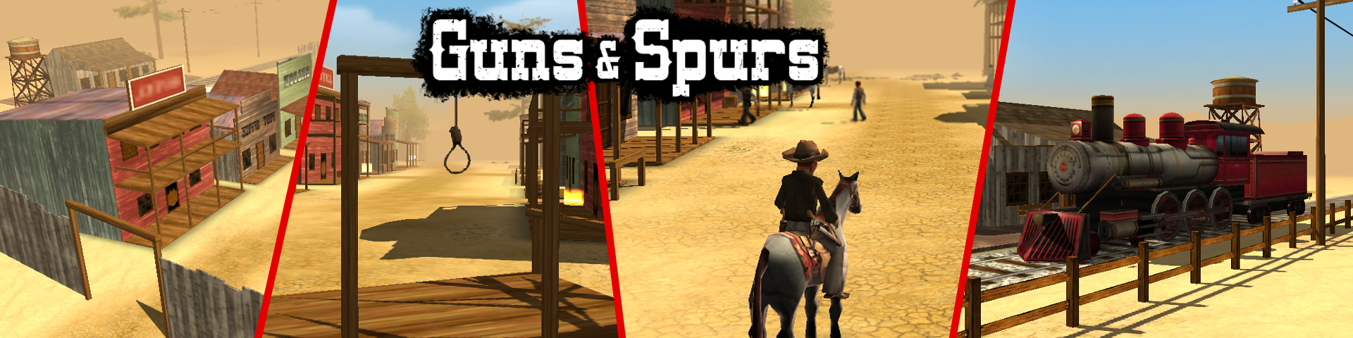 Guns and Spurs Remastered