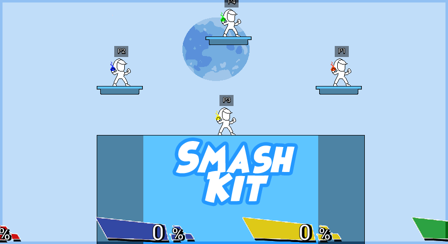 Platform Fighter 2D