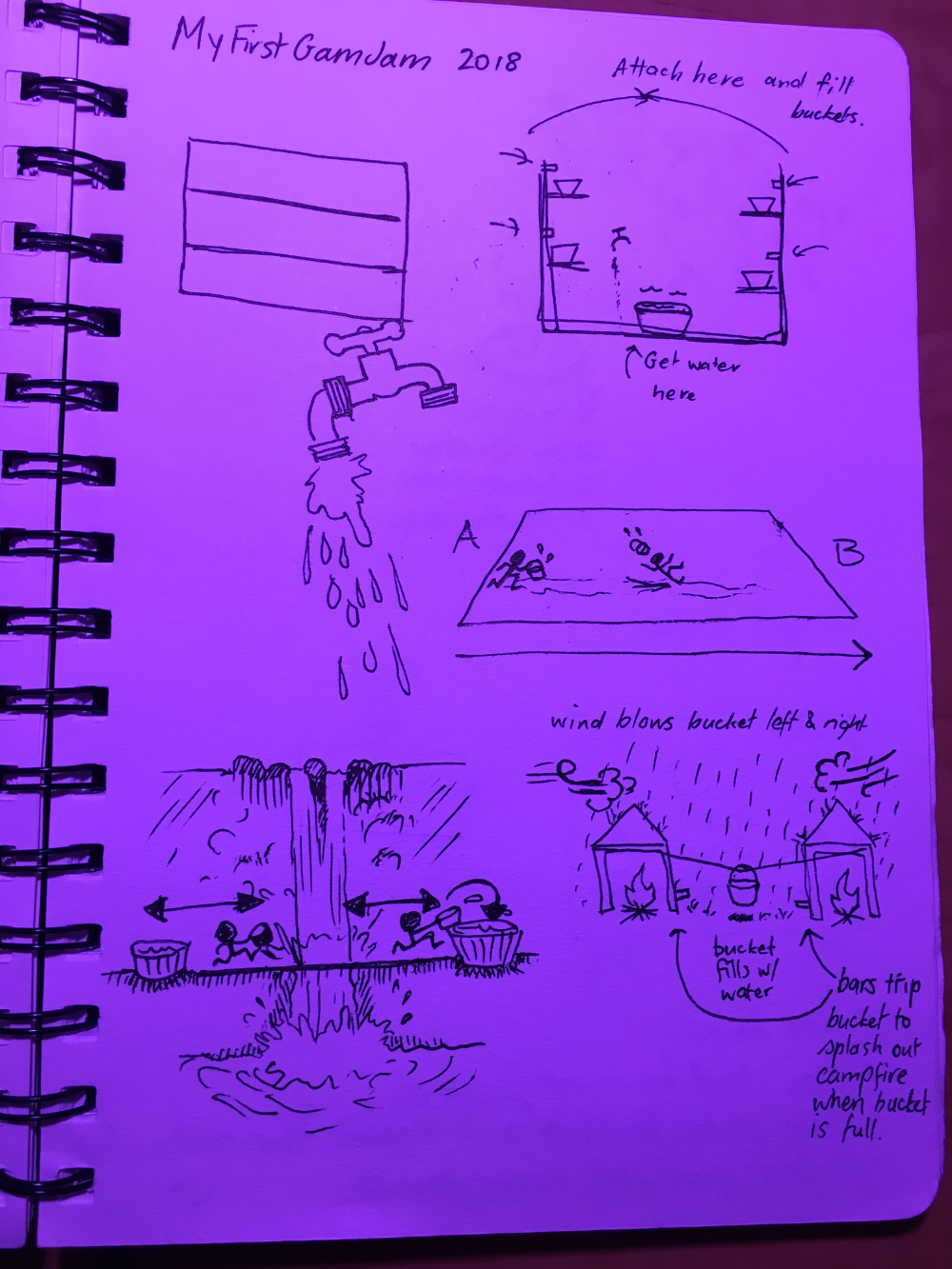 Sketch page 1