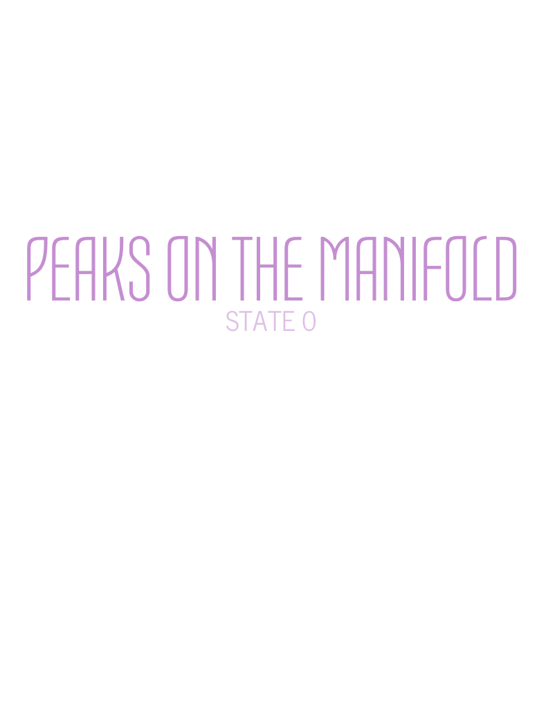 Peaks on the Manifold: State 0