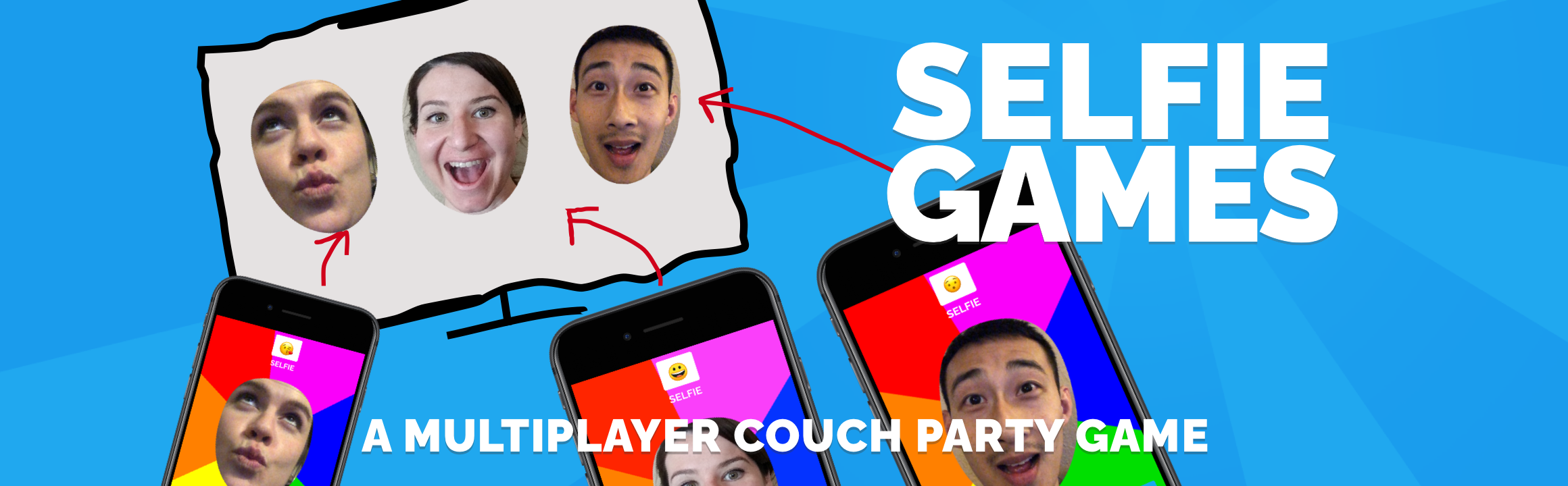 Selfie Games [TV]: A Multiplayer Couch Party Game