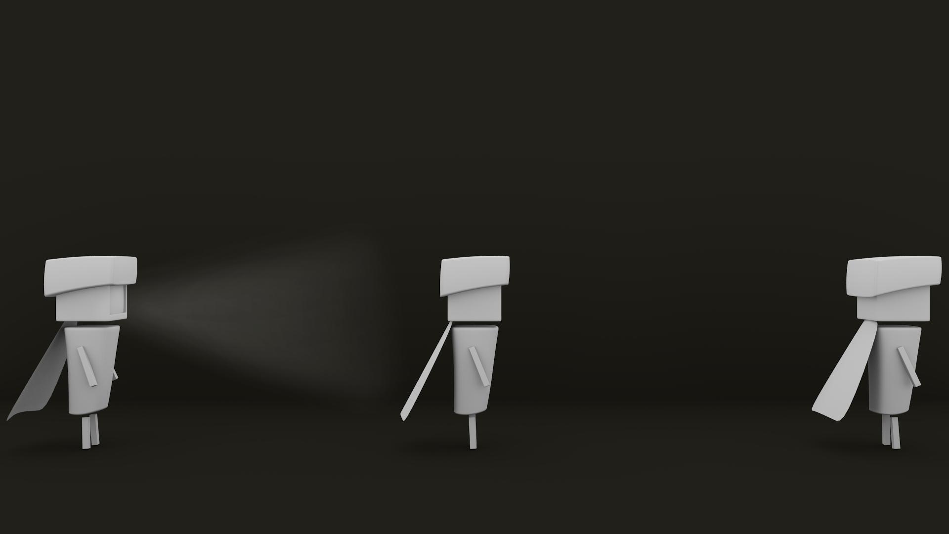 Version 3D sur Blender