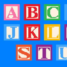 Alphabet With Nicholas Cage