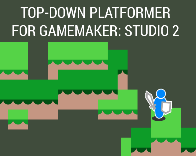 Top-Down Platformer for GameMaker: Studio 2!