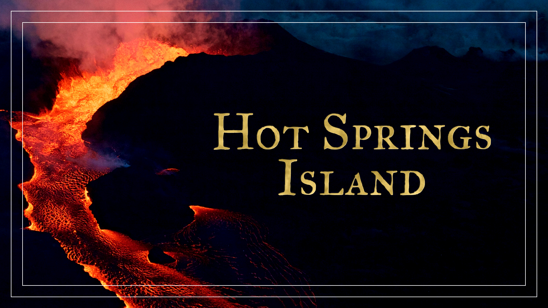 Hot Springs Island - COMPLETE (TTRPG)