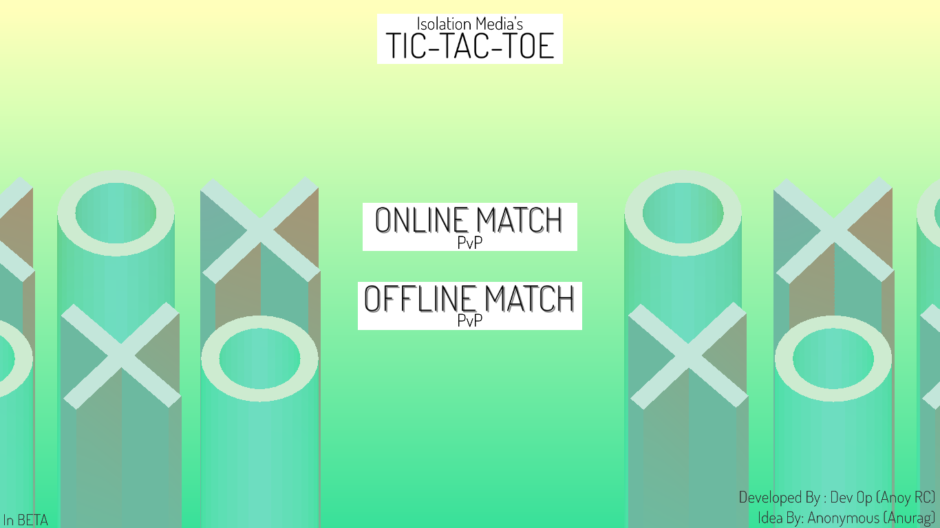 Tic-Tac-Toe (Multiplayer)