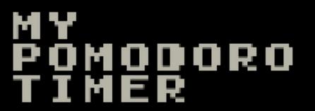 my pomodoro timer