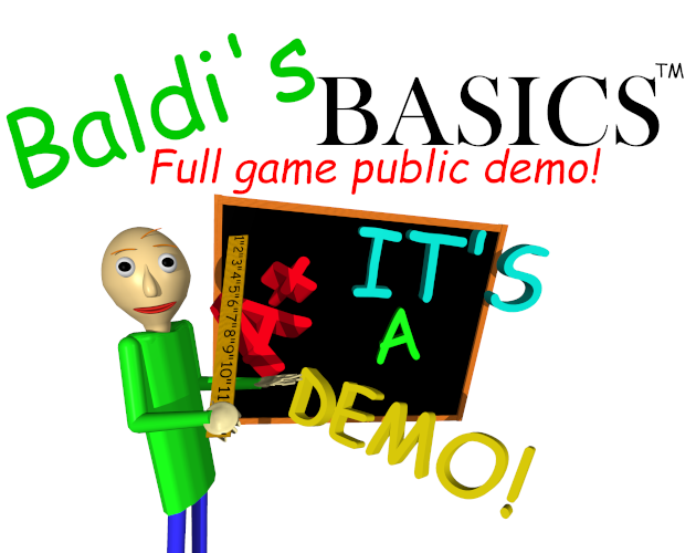 It really is a demo!