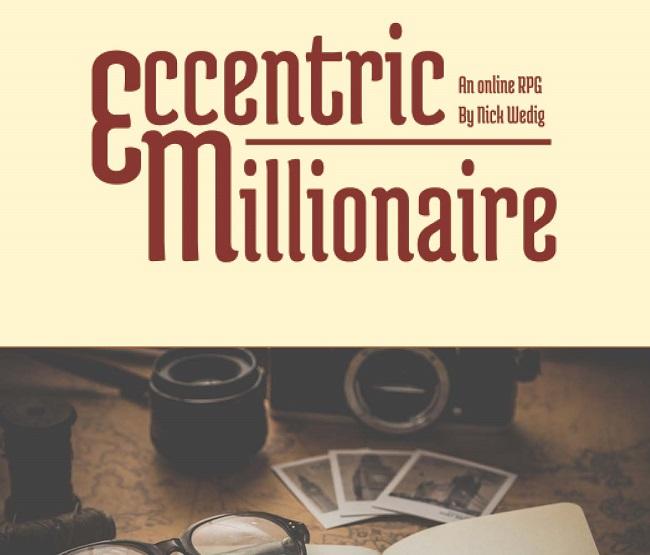 Eccentric Millionaire by nickwedig