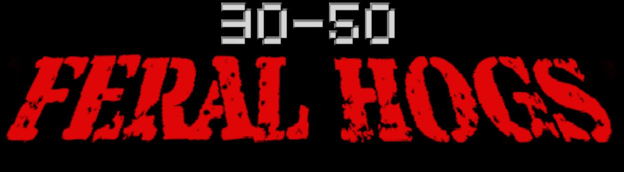 30 - 50 Feral Hogs