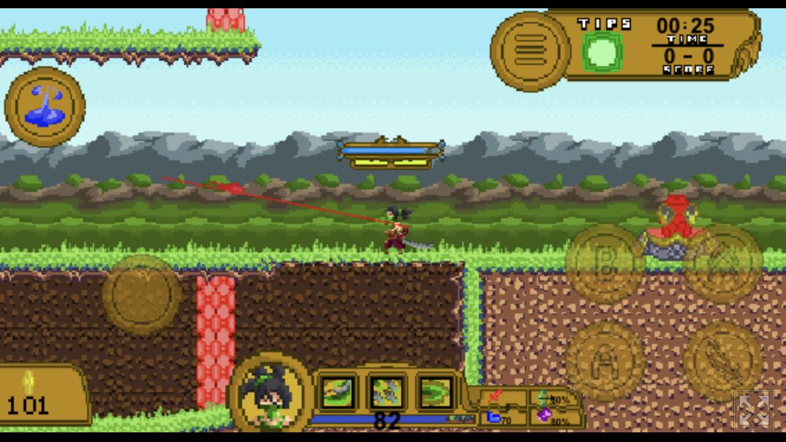 League Of Pixels 2d Moba By Kingdanius