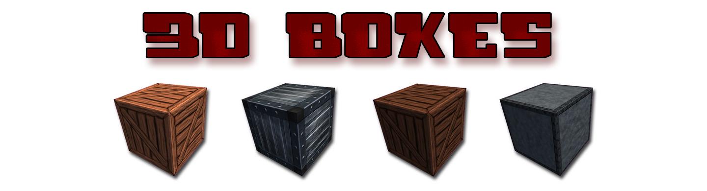 Four 3D Boxes