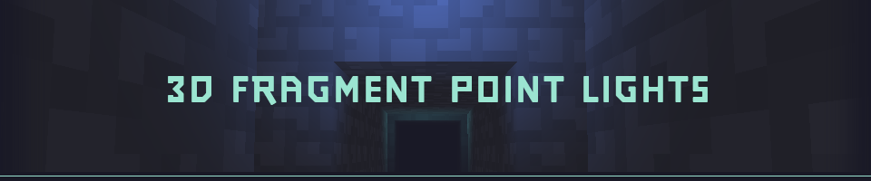 3D Fragment Point Lights for GMS2