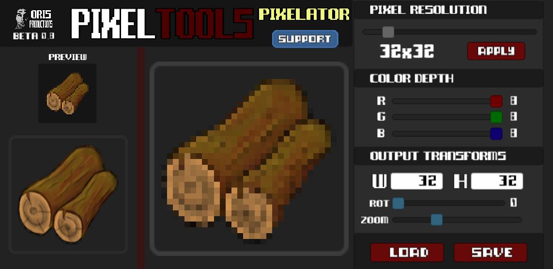 PixelTools - Pixelator