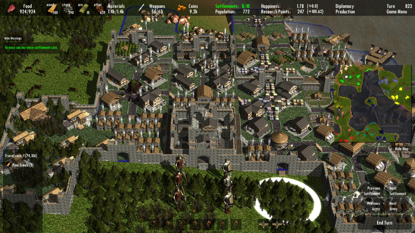 Clans to Kingdoms - 4X Turn-Based Strategy City Building