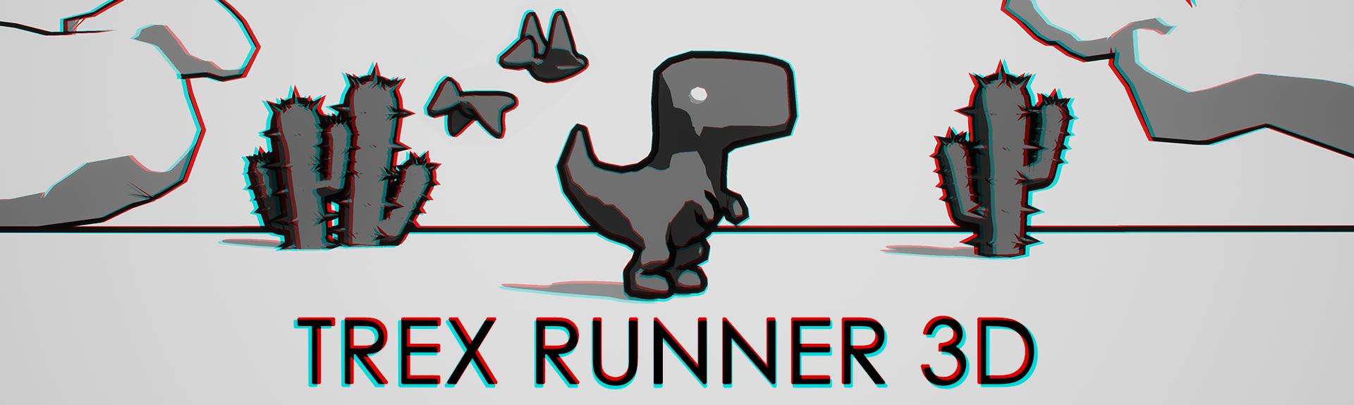 Trex Runner 3D