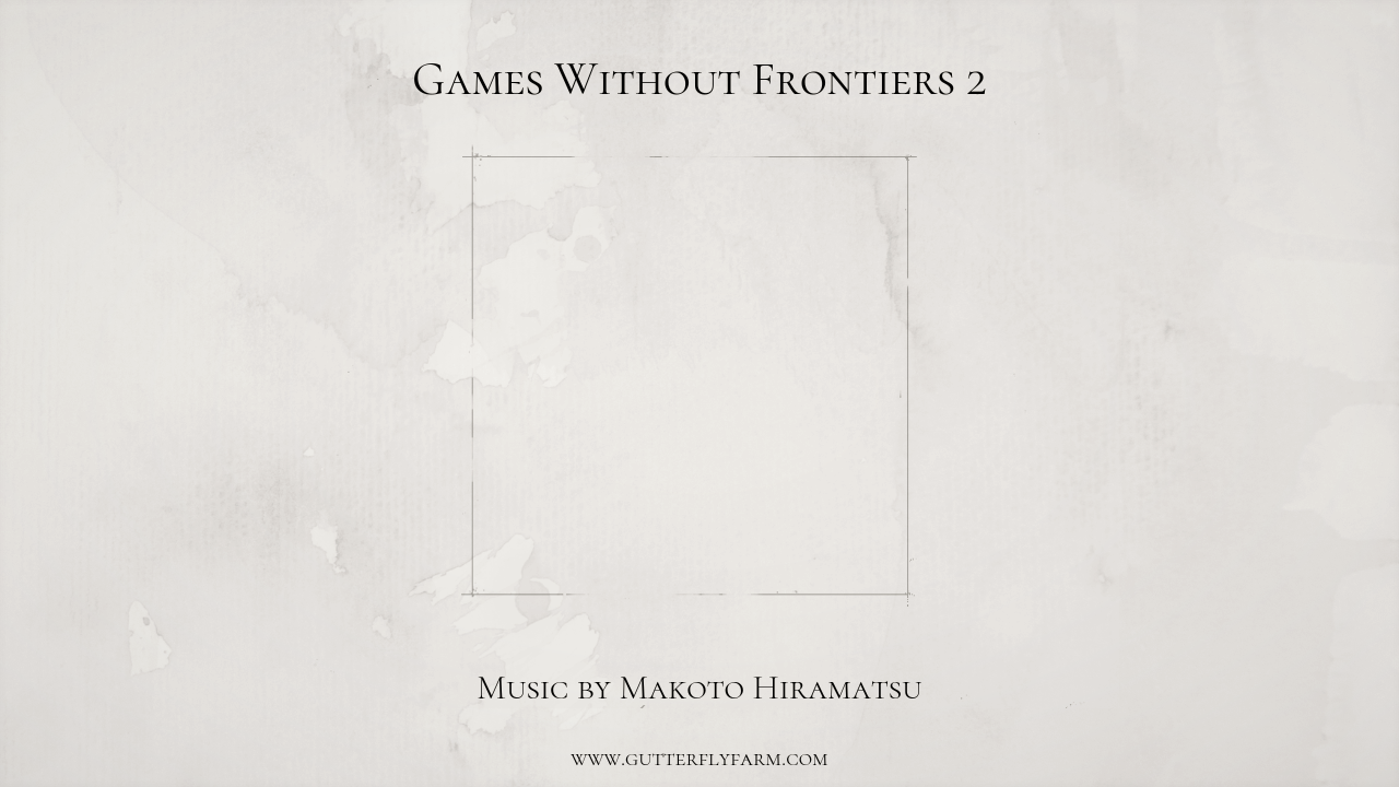 Games Without Frontiers 2 OST
