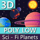 Poly_Low - Sci - Fi - Planets