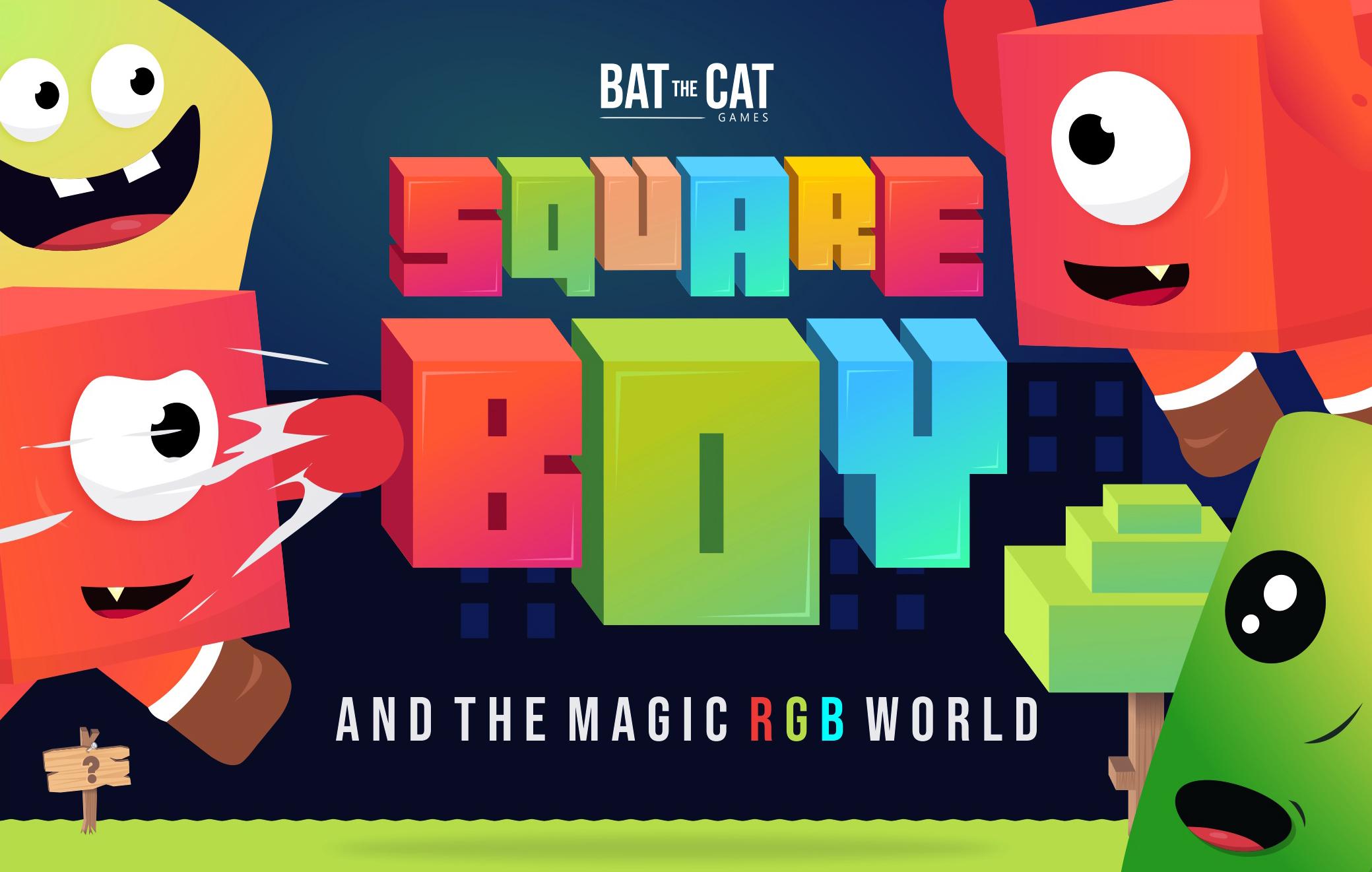 Squareboy and the Magic RGB World