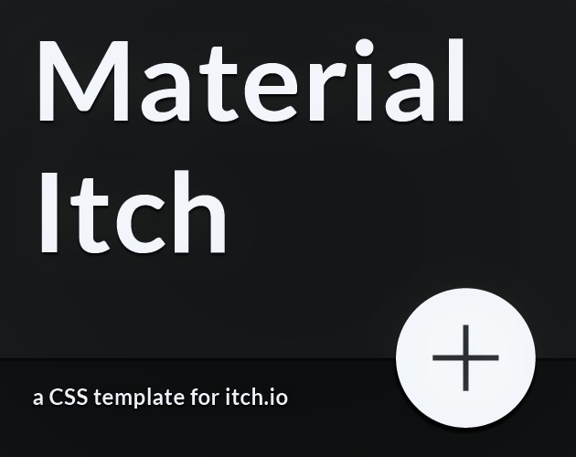 Material Itch CSS