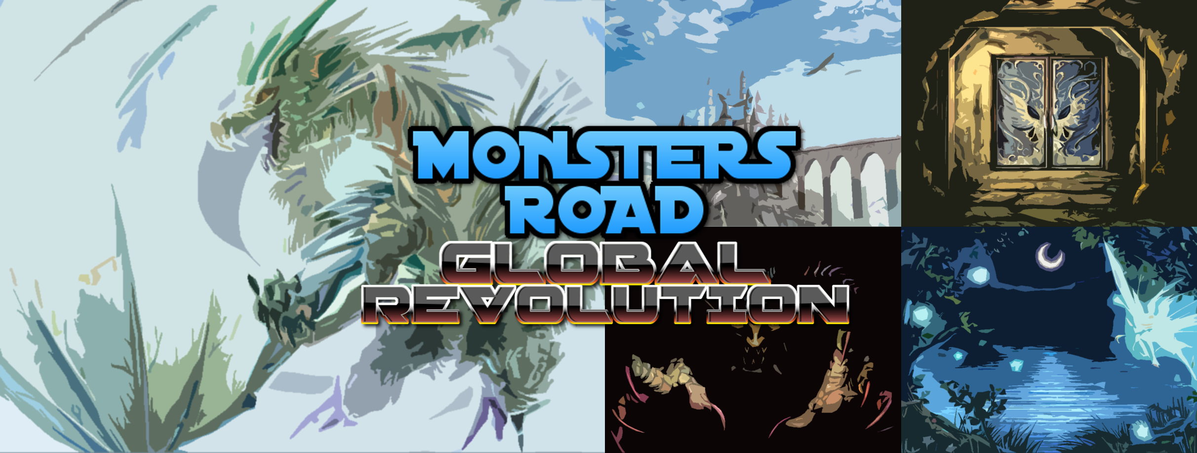 Monsters Road : Global Revolution