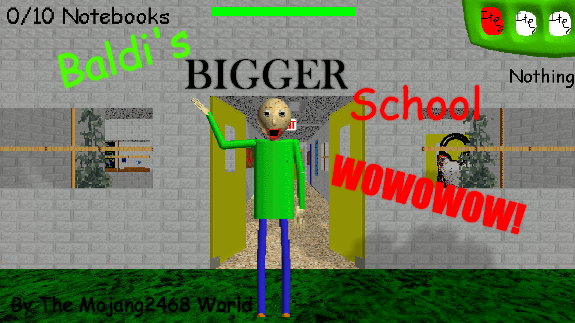 Baldi's Bigger School
