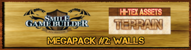 Hi-Tex Assets Megapack Vol. 2 - Terrain: Walls (SMILE GAME BUILDER)