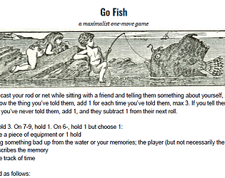 Go Fish: A One-Move Game