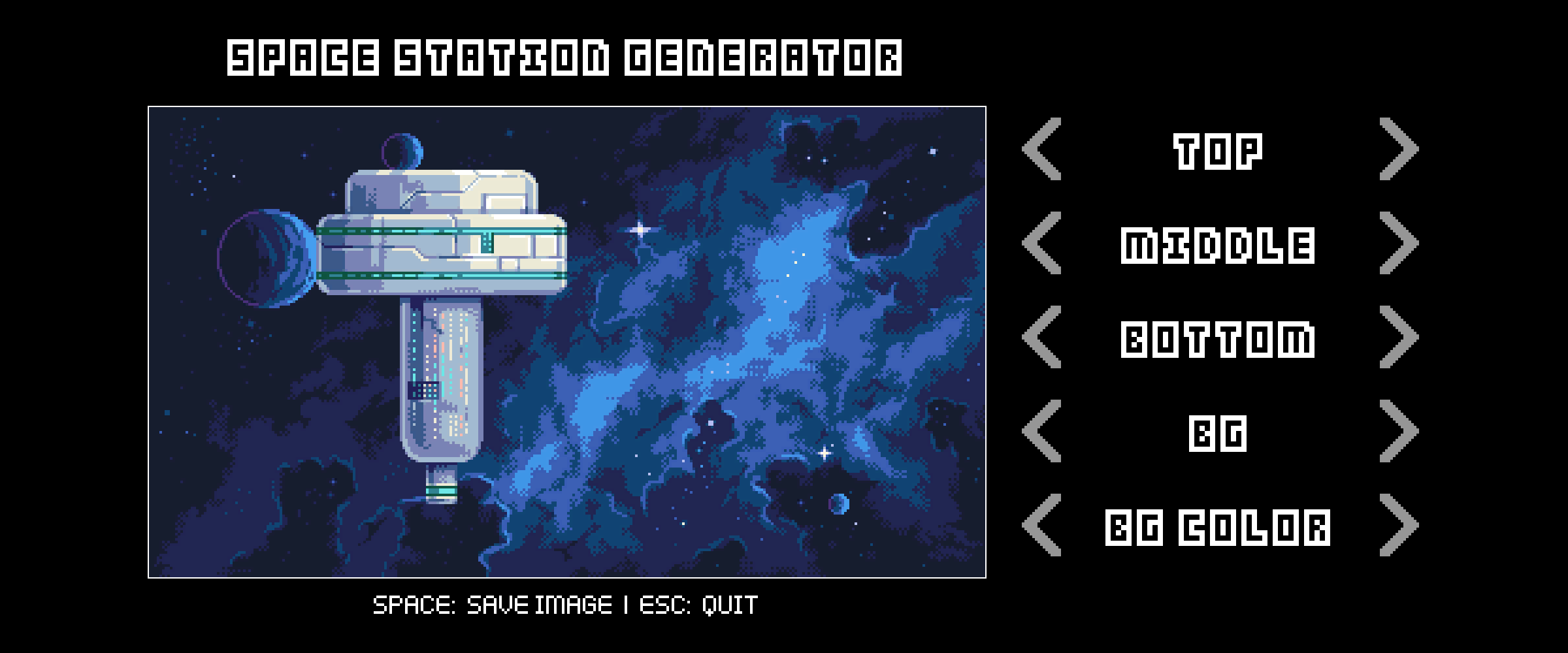 Space Station Generator