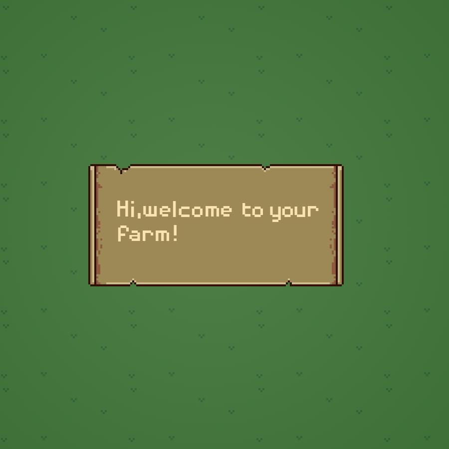Farm Game UI 🚜🌄🌿🐔