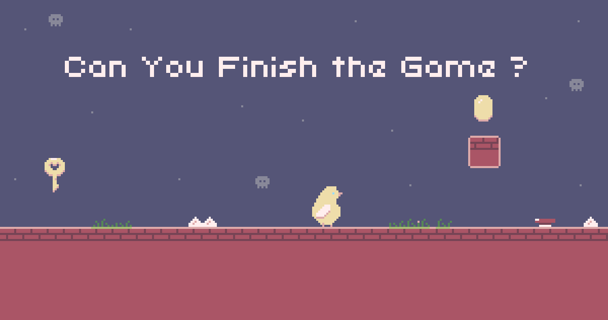 Can You Finish The Game ?