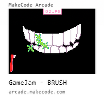 Dragon Mountain Design contributed a great/gross tooth brushing mini-game