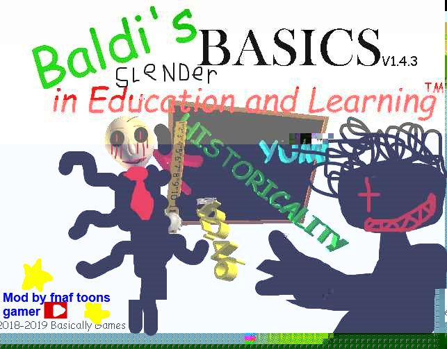 Baldi's Slender Basics
