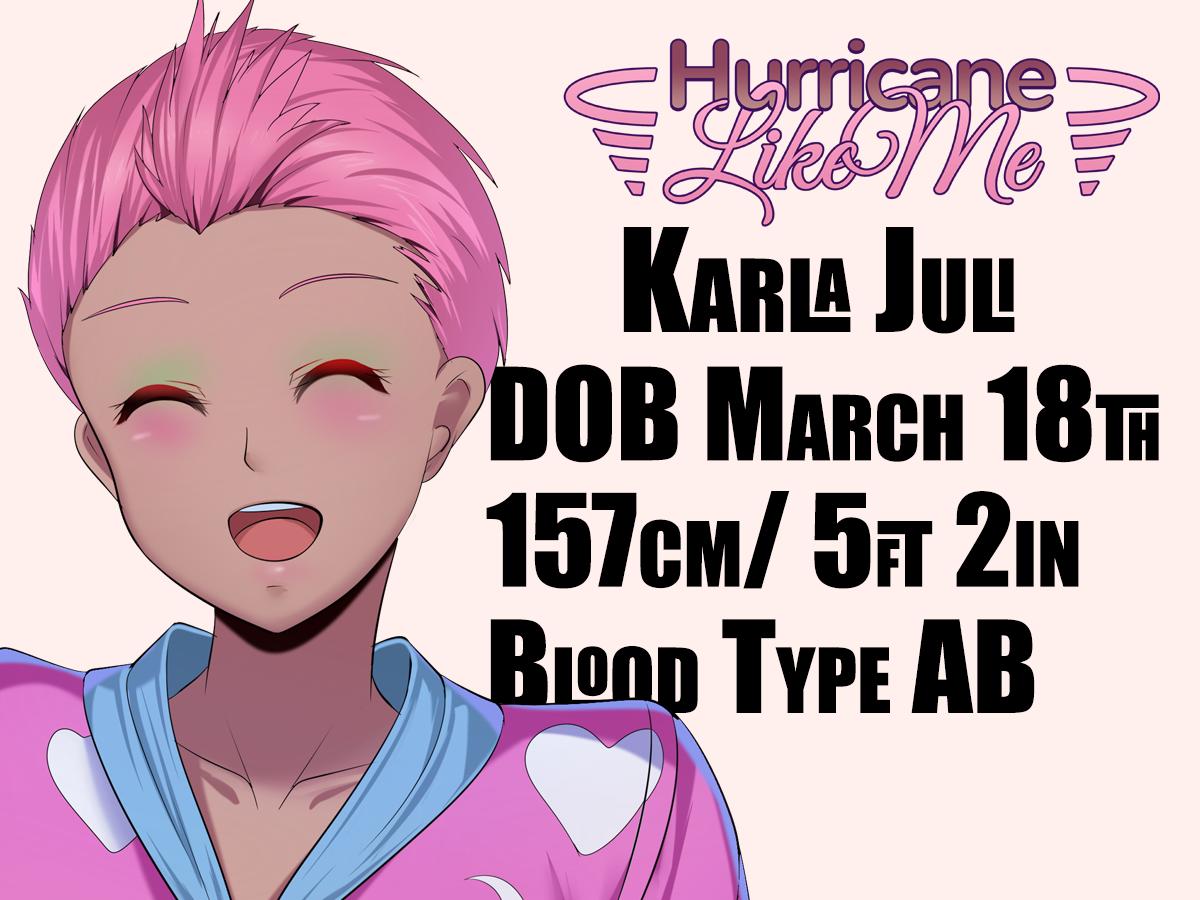 Character Cards Karla Juli