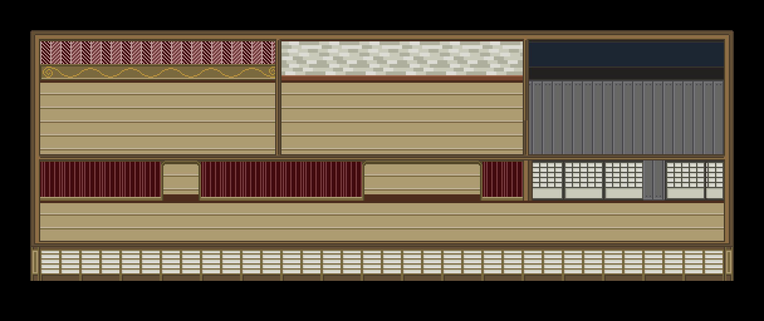 Mishmash House 2D Tileset
