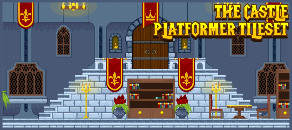The Castle - Platformer Tileset