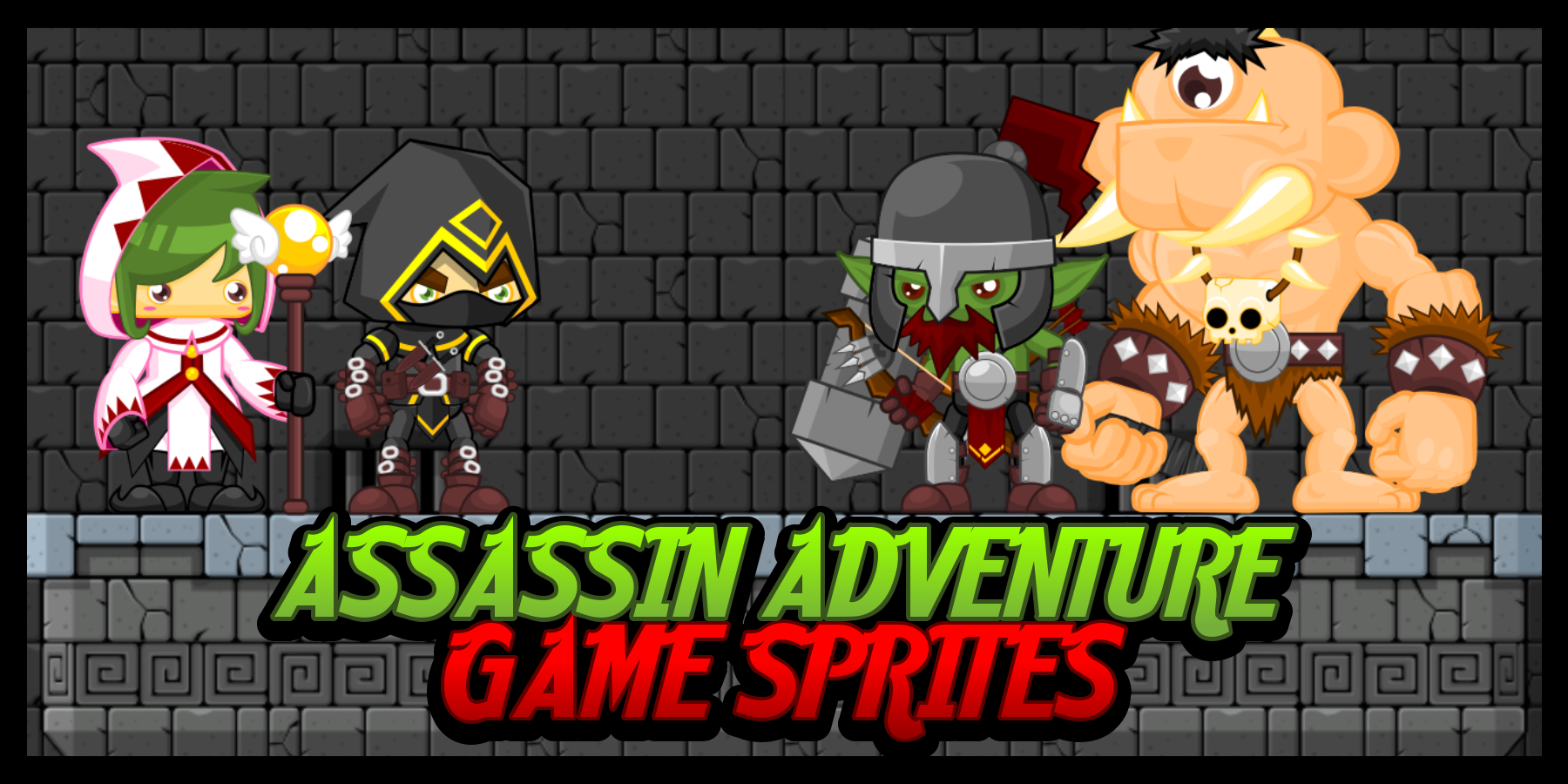 Assassin Adventure - Game Sprites