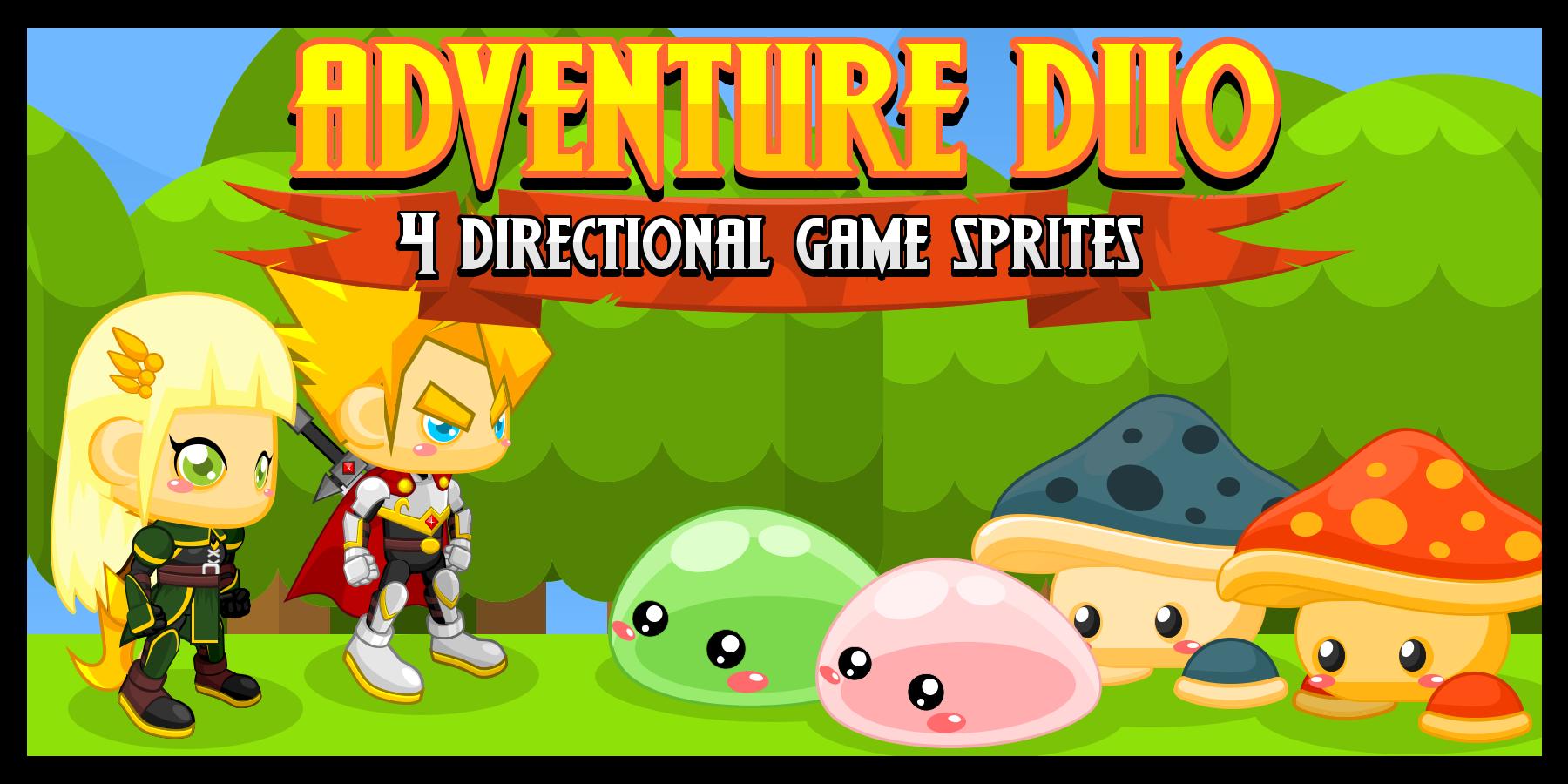 Adventure Duo - Game Sprites