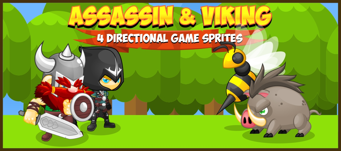 Assassin & Viking - Game