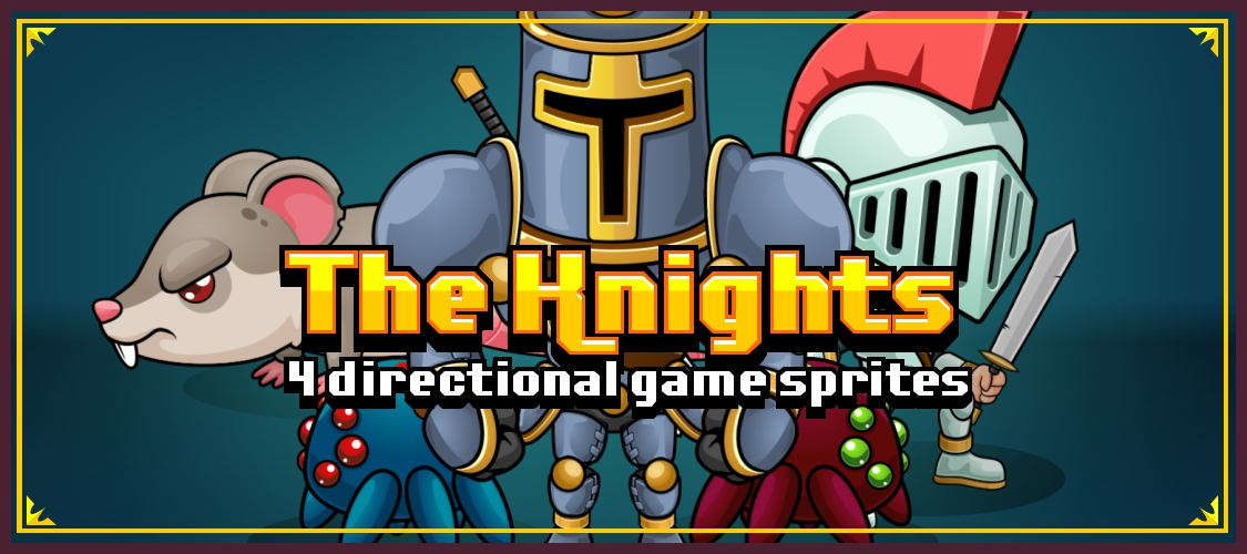 The Knights - Game Sprites