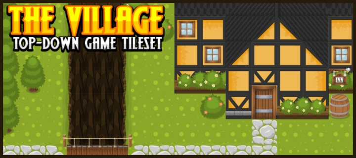 The Village - Top Down Tileset