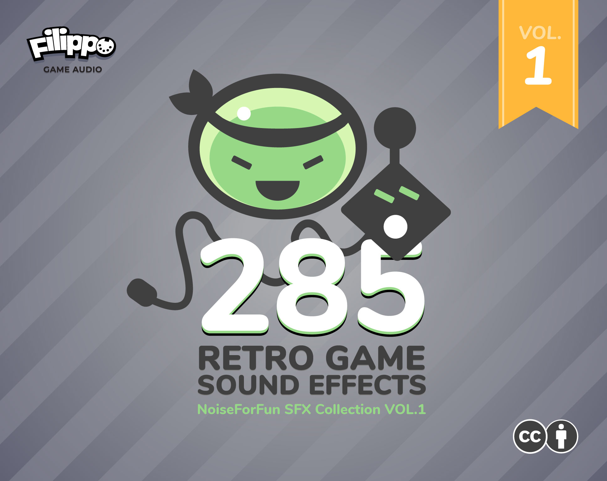 285 Game Sound Effects Vol.1
